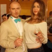 Evgeniy Sukhoi and Tasha Cruz