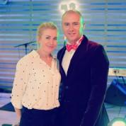 Nadejda Evstardovskaya and Evgeniy Sukhoi