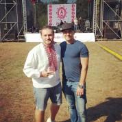 Taras Shpira and Evgeniy Sukhoi